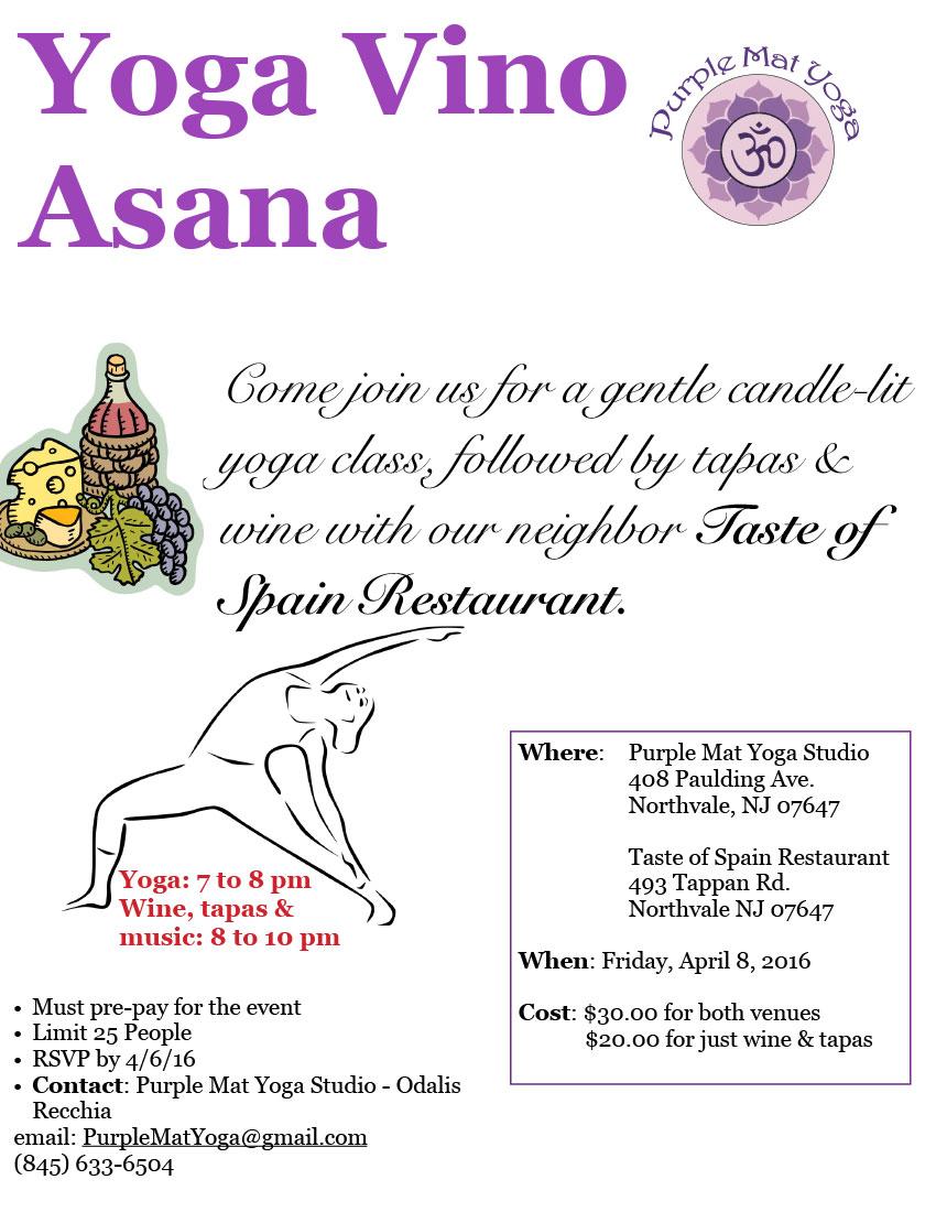 Yoga Vino Asana